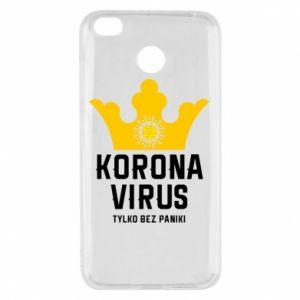 Etui na Xiaomi Redmi 4X Koronawirus