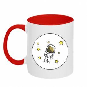Kubek dwukolorowy Kosmonauta