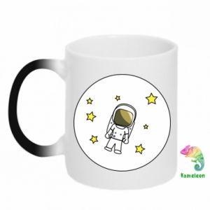 Kubek-kameleon Kosmonauta