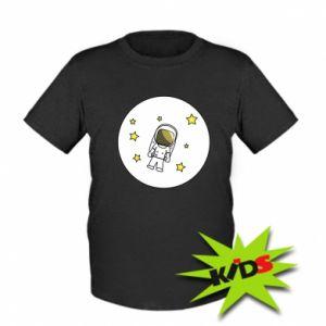 Dziecięcy T-shirt Kosmonauta
