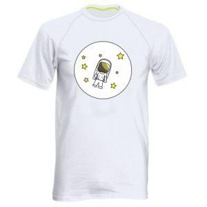 Męska koszulka sportowa Kosmonauta