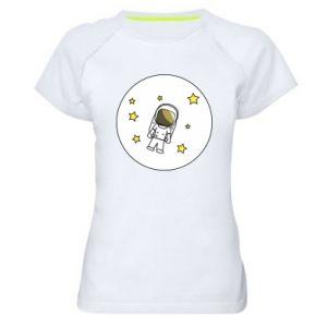 Damska koszulka sportowa Kosmonauta