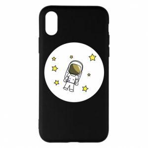 Etui na iPhone X/Xs Kosmonauta