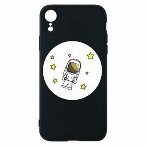 Etui na iPhone XR Kosmonauta