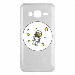 Etui na Samsung J3 2016 Kosmonauta