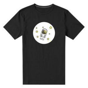 Męska premium koszulka Kosmonauta