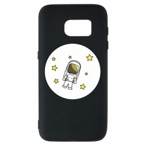 Etui na Samsung S7 Kosmonauta