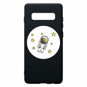 Etui na Samsung S10+ Kosmonauta