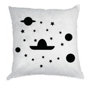 Pillow Cosmos and Sambrero - PrintSalon