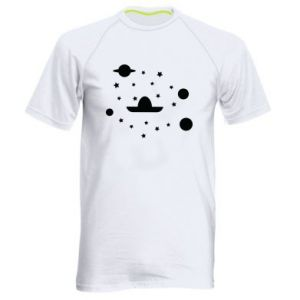 Men's sports t-shirt Cosmos and Sambrero - PrintSalon