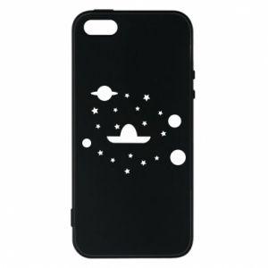 Phone case for iPhone 5/5S/SE Cosmos and Sambrero - PrintSalon