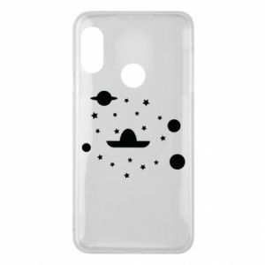 Phone case for Mi A2 Lite Cosmos and Sambrero - PrintSalon