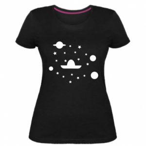 Women's premium t-shirt Cosmos and Sambrero - PrintSalon