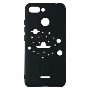 Phone case for Xiaomi Redmi 6 Cosmos and Sambrero - PrintSalon