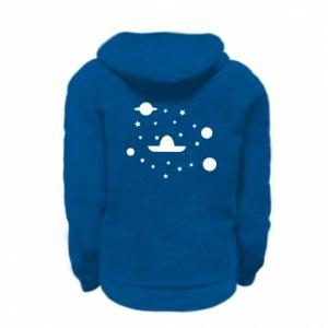 Bluza na zamek dziecięca Kosmos i Sambrero