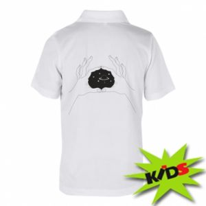 Dziecięca koszulka polo Kosmos w rękach