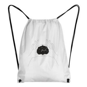 Plecak-worek Kosmos w rękach