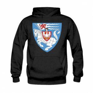 Kid's hoodie Koszalin coat of arms