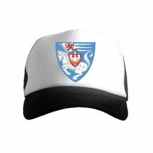 Kid's Trucker Hat Koszalin coat of arms