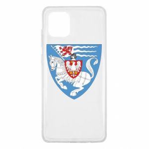 Samsung Note 10 Lite Case Koszalin coat of arms