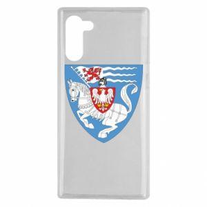 Samsung Note 10 Case Koszalin coat of arms