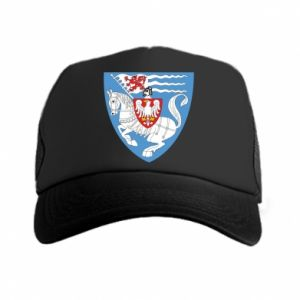 Trucker hat Koszalin coat of arms