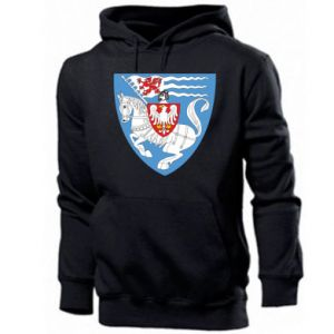 Men's hoodie Koszalin coat of arms