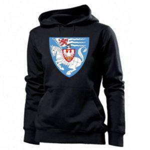 Women's hoodies Koszalin coat of arms