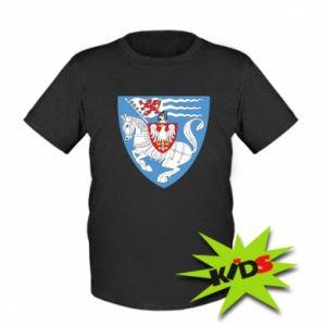 Dziecięcy T-shirt Koszalin herb