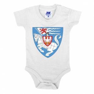 Baby bodysuit Koszalin coat of arms