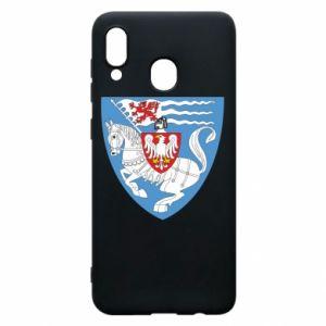 Samsung A20 Case Koszalin coat of arms