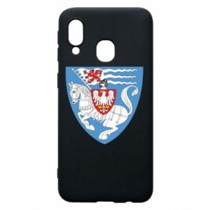 Samsung A40 Case Koszalin coat of arms
