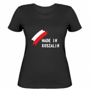 Damska koszulka Made in Koszalin