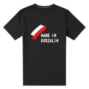 Męska premium koszulka Made in Koszalin