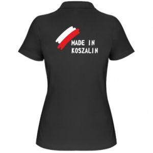 Koszulka polo damska Made in Koszalin