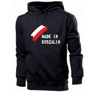 Bluza z kapturem męska Made in Koszalin