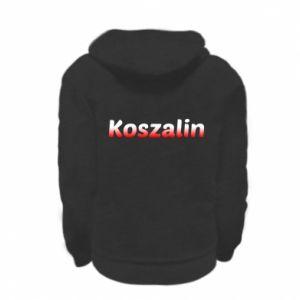 Kid's zipped hoodie % print% Koszalin