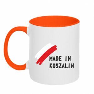 Kubek dwukolorowy Made in Koszalin