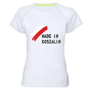 Koszulka sportowa damska Made in Koszalin
