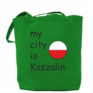 Bag My city is Koszalin