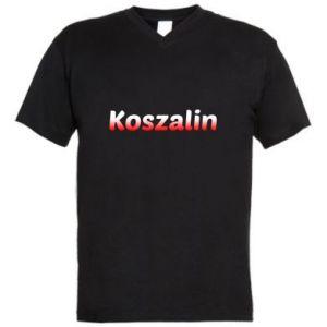 Męska koszulka V-neck Koszalin