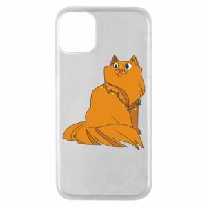 iPhone 11 Pro Case Christmas cat