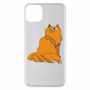 iPhone 11 Pro Max Case Christmas cat