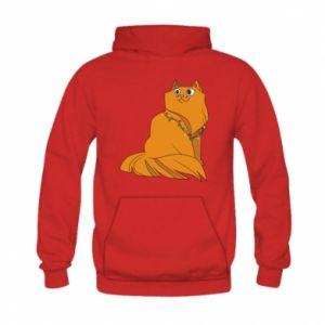 Kid's hoodie Christmas cat
