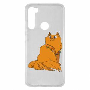 Xiaomi Redmi Note 8 Case Christmas cat