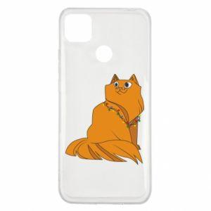 Xiaomi Redmi 9c Case Christmas cat