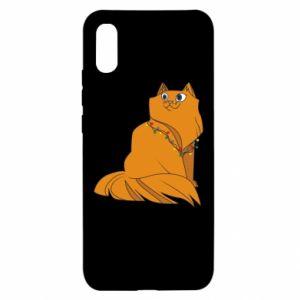 Xiaomi Redmi 9a Case Christmas cat
