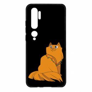 Xiaomi Mi Note 10 Case Christmas cat