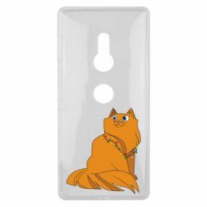 Sony Xperia XZ2 Case Christmas cat