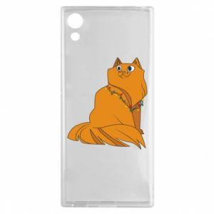 Sony Xperia XA1 Case Christmas cat